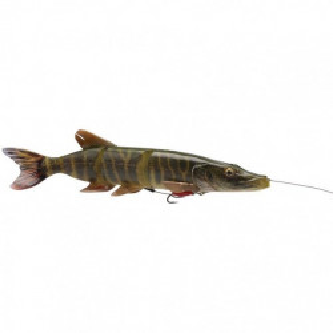 Vobler Swimbait Savage Gear 4D Line Thru Pike SS01, 25cm, 105g