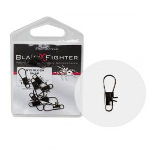 Agrafa EnergoTeam Black Fighter BS, 10 buc