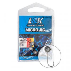 Cap de Jig L&K Microjig 2412, 2g