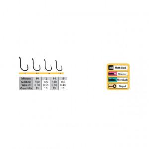 Carlige Trabucco Match Specialist micro barb, 15 buc