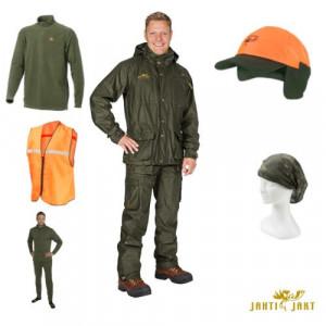 Costum set verde Rosto Premium 8 piese Jahti Jakt