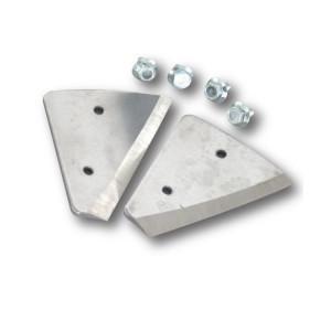 Cutite pentru Freza Curved Ice Auger Blades 4*110MM Trakko
