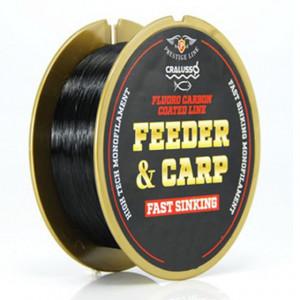 Fir Cralusso Feeder Carp FluoroCarbon, Negru, 300m