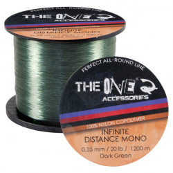 Fir Monofilament Infinite Distance Verde 1200m The One