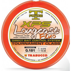 Fir monofilament T-force XPS Longcast Fluo 1200m Trabucco