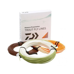 Fir musca orange Fly Line CL5 Daiwa