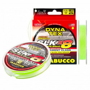 Fir textil Trabucco Dyna-Tex Pro SLK X8, Lime Green, 150m