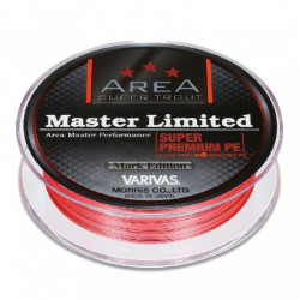 Fir textil Varivas Super Trout Area Master Limited Super Premium PE, orange, 75m