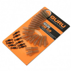 Kit Guru Micro Lead Clip and Tail Rubbers, 10buc/plic
