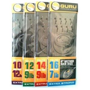 Montura Method Hair Rig carlig nr.16 / 8buc /plic Guru