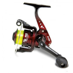 Mulineta spinning Vigor SL FD cu fir 3000 Lineaeffe