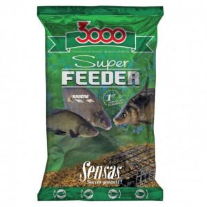 Nada  3000 super river feeder (1 kg) Sensas