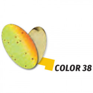 Oscilanta Herakles Spike, Culoare 38 - Chartreuse Orange/Gold, 1g