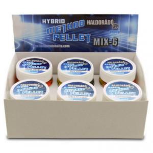 Pelete Haldorado Hybrid Method Pellet, Mix 6 arome, 8mm