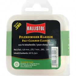 Pelete lana pentru caratat arme calibrul 270W/ 7mm Ballistol