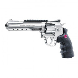 "Pistol airsoft CO2 Ruger SuperHawk 6"" Silver  / 8 bb / 3J Umarex"