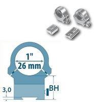 Prindere fixa bar  D=26mm / H=13,5mm