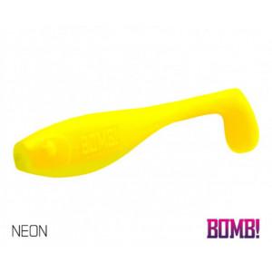 Shad Delphin BOMB Fatty, Neon, 10cm, 5 buc