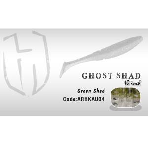 Shad Ghost 10cm  Green Shad  Herakles