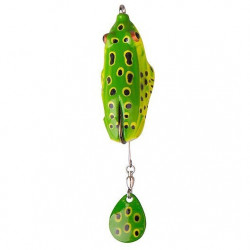 Spinnerbait Kick Frog 10cm / 12g F verde Savage Gear