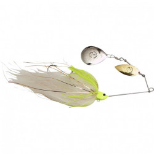 Spinnerbait Savage Gear Da Mega Bush White Silver, 55g, White Chartreuse
