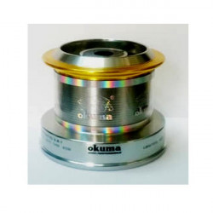 Tambur aluminiu mulineta Okuma Power Liner Baitfeeder 65