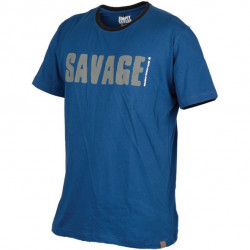 Tricou Simply albastru Savage Gear
