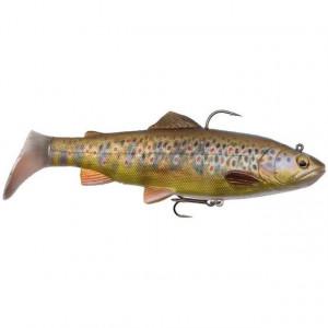 Vobler 4D Trout Spin 12,5cm/35g/ Dark Brown Trout Savage Gear