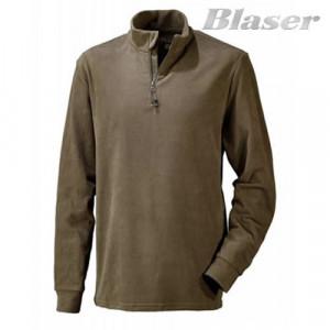 Hanorac Fleece maro Troyer basic Blaser