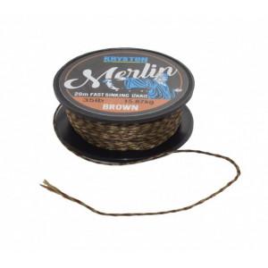 Fir textil Fast Sinking Supple maro 20m Kryston