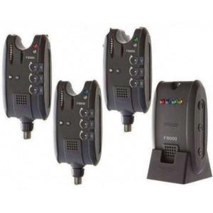 Set avertizori Pro Carp 8000, 3+1 Cormoran
