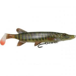 Vobler Swimbait Savage Gear 4D Line Thru Pike SS01, 20cm, 65g