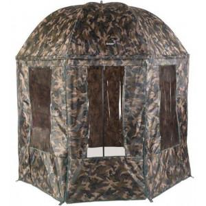 Cort tip umbrela Jaxon, camuflaj, 2.5m
