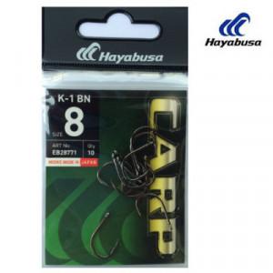 Carlige Hayabusa K-1 BN, Black Nickel, 10bc