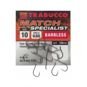 Carlige Trabucco Match Specialist, 15 buc