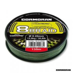 Fir Corastrong 8BRAID verde 135m Cormoran