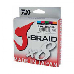 Fir Daiwa J-Braid X8 Multicolor 150m