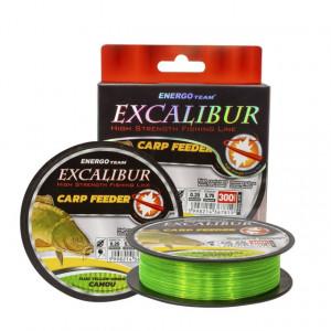 Fir EnergoTeam Excalibur Carp Feeder, verde fluo, 300m