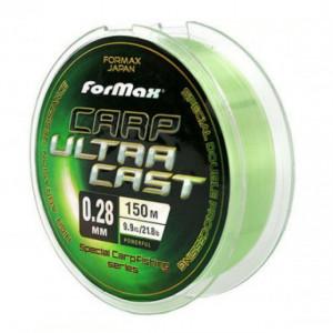 Fir Monofilament Formax Carp Ultracast, verde deschis, 300m