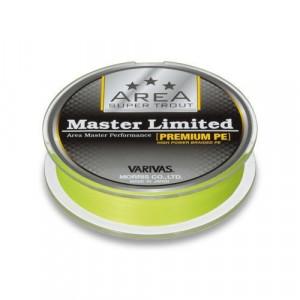 Fir textil Area Master PE Yellow Fluo, 75m Varivas
