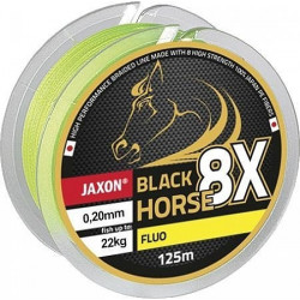 Fir Textil Black Horse PE 8X Fluo 125m Jaxon