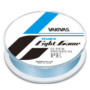 Fir textil Varivas Avani Light Game Super Premium PE X4, albastru, 150m
