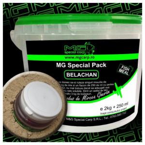 Mix pentru boiles Fishmeal + lichid 2 kg MG Carp