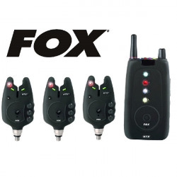 Set 3 Avertizori Fox Micron NTX-R + statie