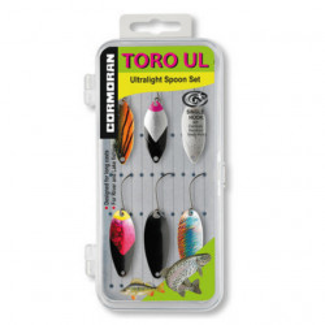 Set 6 lingurite oscilante pastrav Cormoran Toro UL1-UL3