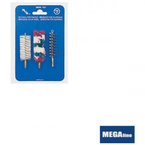 Set perii pentru curatat arma calibru 16mm/ 3buc/ plic Megaline