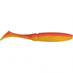 Shad Power Shad Dual Red Flame Yellow 10cm, 8buc/plic Rapture