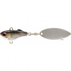 Spinnertail Chibi Spin N Jig Silver 3.3cm, 14g Rapture