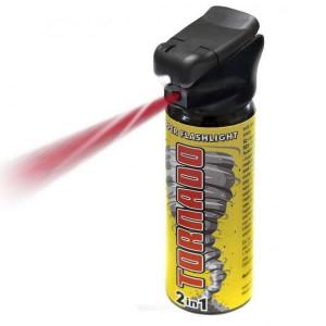 Spray autoaparare Tornado cu lanterna, 50ML ESP
