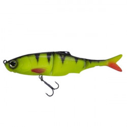 Swimbait Sub Kicker Yellow Perch 18cm, 1 buc/plic Biwaa